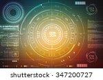 digital abstract business... | Shutterstock . vector #347200727