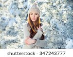Beautiful Girl In The Winter...
