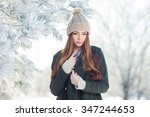 Beautiful Winter Portrait Of...