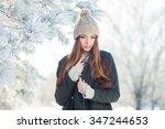 Beautiful Winter Portrait Of...
