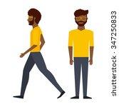 avatar person design  vector... | Shutterstock .eps vector #347250833