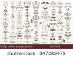mega collection or set of... | Shutterstock .eps vector #347283473