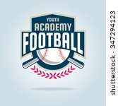 baseball badge sport logo team... | Shutterstock .eps vector #347294123