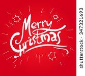 hand lettering greeting... | Shutterstock .eps vector #347321693