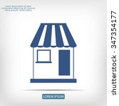 shop icon | Shutterstock .eps vector #347354177