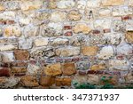 Old Stone Wall At Belgrade...