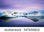 Jokulsarlon Glacier Lagoon Wit...