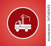 crane icon | Shutterstock .eps vector #347685653