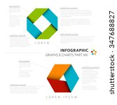 vector flat design infographic... | Shutterstock .eps vector #347688827