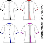 coat blouse top clothes fashion ... | Shutterstock . vector #347700497