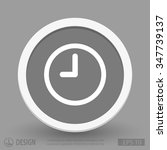 pictograph of  clock | Shutterstock .eps vector #347739137