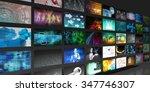 video screens abstract... | Shutterstock . vector #347746307