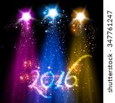 new year 2016 background | Shutterstock .eps vector #347761247