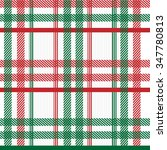 textured plaid  seamless vector ... | Shutterstock .eps vector #347780813
