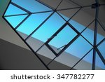 double exposure photo of glazed ... | Shutterstock . vector #347782277