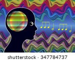 Mind Expanding Music. Woman...