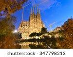 Time Lapse Of Sagrada Familia ...