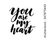 You Are My Heart. Romantic...