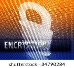 online computer security... | Shutterstock . vector #34790284