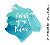 "motivation poster ""create your... 