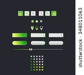 green web interface navigation...