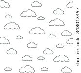 baby vector seamless pattern.