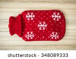 Red Hot Water Bottle On The...