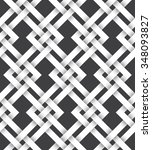 abstract repeatable pattern... | Shutterstock .eps vector #348093827