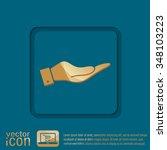 hand icon | Shutterstock .eps vector #348103223