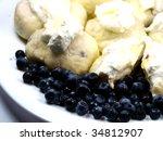 Sweet Dumplings With Blueberries