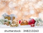 Decorative Christmas Background.