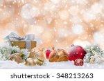 Decorative Christmas Background.