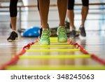 ladder workout | Shutterstock . vector #348245063