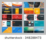 set of modern creative and... | Shutterstock .eps vector #348288473