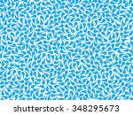 Vector Abstract Pattern Of Blu...
