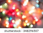 abstract christmas lights ... | Shutterstock . vector #348296507