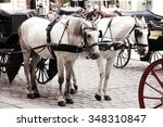 Couple Horse Drawn Carts...