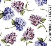 seamless floral pattern with... | Shutterstock . vector #348327137