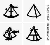 sextants | Shutterstock .eps vector #348342473