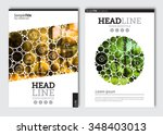 business brochure design... | Shutterstock .eps vector #348403013