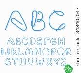 clip font   Shutterstock .eps vector #348405047