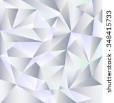 crystal polygon vector pattern. ... | Shutterstock .eps vector #348415733