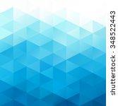 Blue Grid Mosaic Background ...