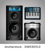 music technology equipment...
