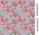 Pattern Magnolia Flowers...