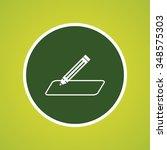 pencil or write icon | Shutterstock .eps vector #348575303