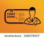 doctor quotation mark speech... | Shutterstock .eps vector #348578927