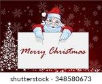 santa claus background | Shutterstock .eps vector #348580673