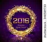 Vector 2016 Happy New Year...