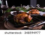 christmas and new year's eve...   Shutterstock . vector #348594977